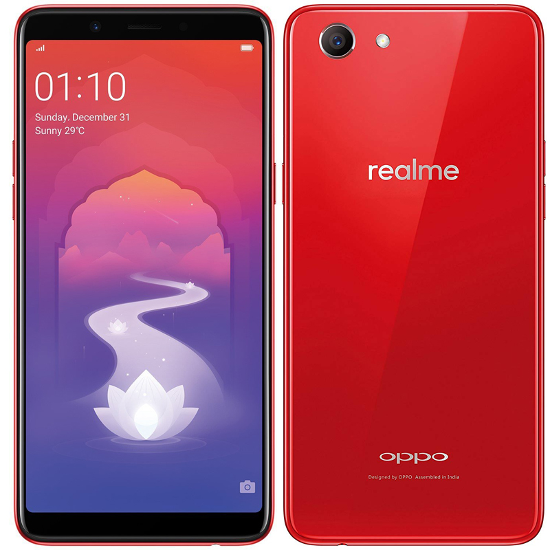best service e43ee a565d RealMe 1 (Solar Red, 4+ 64 GB) OPPO